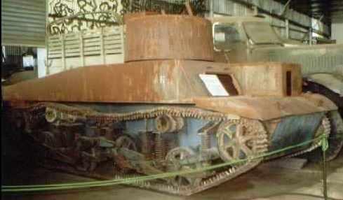 Australian experimental light tank