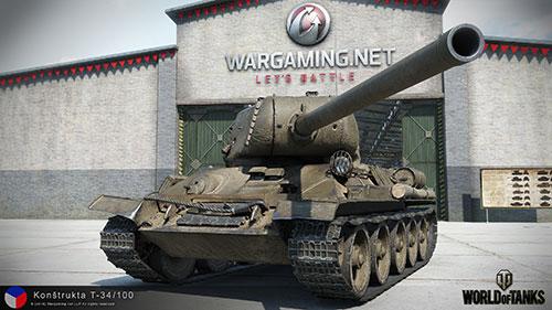 T-34/100 z automatickým nakladačem