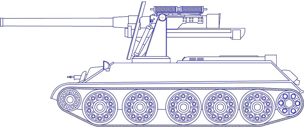 TACAM T-34